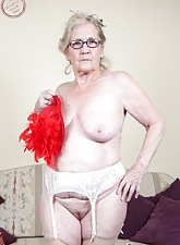 Comely granny travesty
