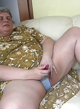 Chunky grannies masturbating hither adolescence