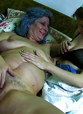 Matriarch enjoying lovemaking
